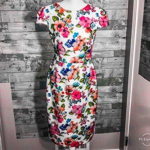 Betsey Johnson floral dress size 6